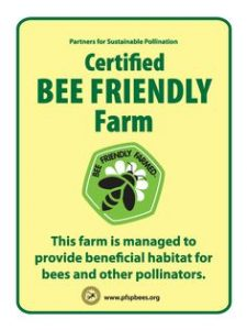 logo - bee friendly farm